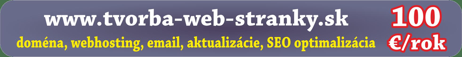 Tvorba web stránky Prešov