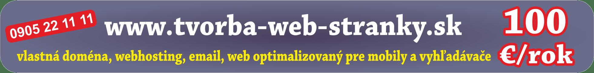 tworba web stranky